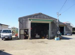 整備工場(認定大型機械整備施設)