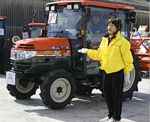 新型トラクターのGOシリーズ